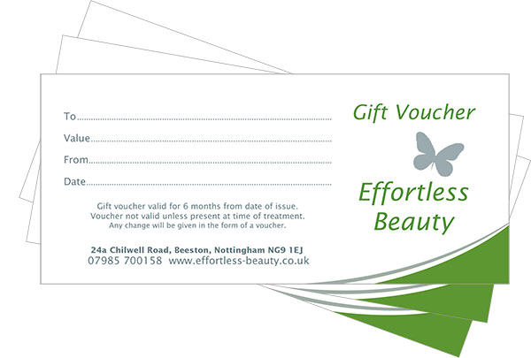 Effortless Beauty Gift Voucher